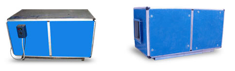 Filtration Units & Inline Fans & Air Filtration, Air cleaners, Air purifiers.